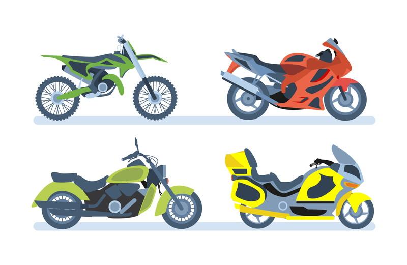 多数のバイクが選べる